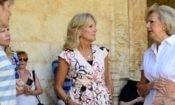Dr. Jill Biden with the curator of Belém Monastery