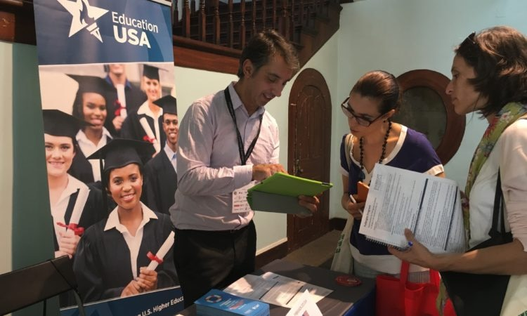 Study Abroad Portugal fair in Funchal