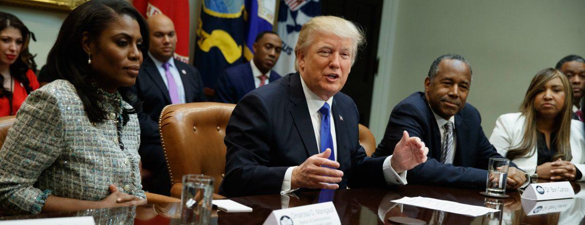 President Trump Honors African Americans