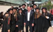 David Brumley com alunos da Universidade do Minho
